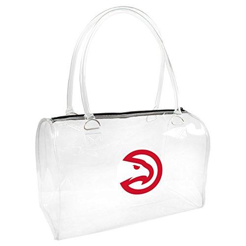 Littlearth NBA Atlanta Hawks Clear Bowler (Atlanta Hawks Bag)