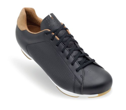Giro New Road Republic Shoes Army/Gum, 44.0 - - Leather Cycling Shoes