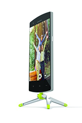 Kenu Stance | Compact Tripod for Android, Samsung Galaxy, Windows Phone, HTC, Nokia, Sony and More Phone Stand Cell Phone Holder | Micro-USB