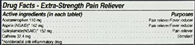 First Aid Only Extra-Strength Pain Reliever Tablets, 2 per packet, 100 Count Boxes by First Aid Only