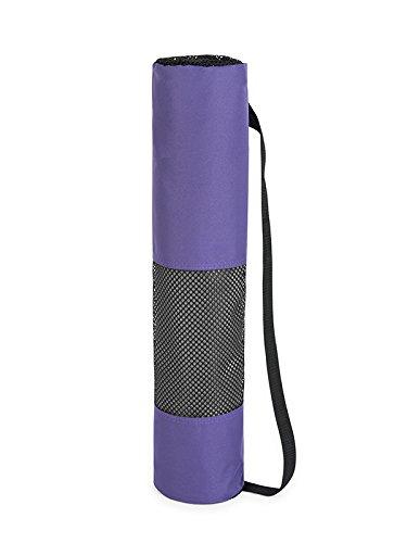 Ligero estera de Yoga bolsa encaja estándar de esteras gruesas (bolsa única)