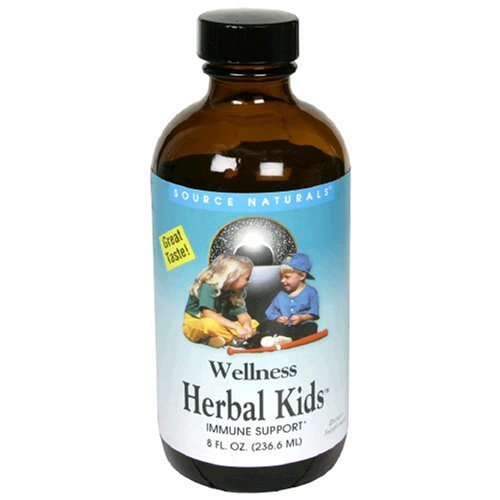 Source Naturals Wellness Herbal Kids – 8 oz For Sale