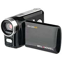 Bell + Howell DV200HD Digital Camera with 2-Inch LCD-Screen, Black