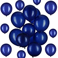 Hestya 100 Pack Latex Balloons for Weddings, Birthday Party, Bridal Shower, Party Decoration