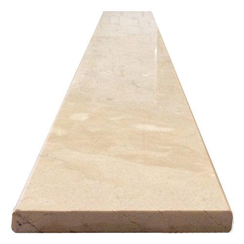 Vogue Tile Crema Marfil Beige Marble Threshold (Marble Saddle) - Polished - (6'' x 36'') by Vogue Tile (Image #2)