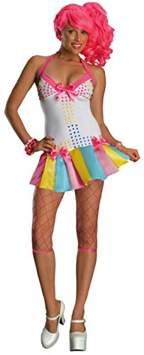 [Women's Candy Girl Lollipop 80s Fancy Dress Up Costume Size Large] (80s School Girl Costume)