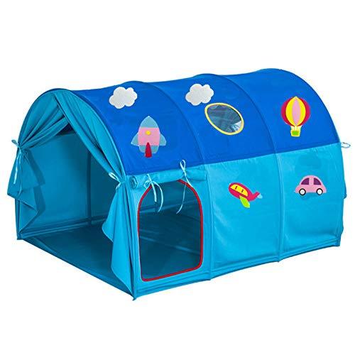 CBWZDJZDS Kinderbett Zelt Spielhaus Bett, Cartoon Zelt Kinderbett Zelt Fahrzeug