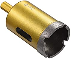 uxcell 60mm Dry//Wet Diamond Core Drill Bit for Granite Concrete Brick Block Stone Masonry