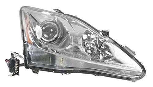 Headlight Headlamp Passenger Side Right RH for 06-08 Lexus IS250 - Rh Headlamp Headlight