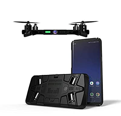 SELFLY Flying Phone Case Camera - The thinnest Ever Flying Drone with Camera, Always with You in Your Pocket, Autonomous Flight, Easy to use, Live Video
