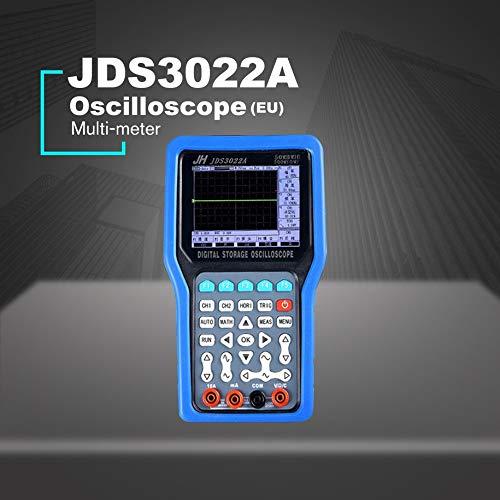 Digital Oscilloscope, JDS2022A 20MHz Bandwidth 2 Channels Handheld Digital Oscilloscope 200MSa/s LCD Oscilloscope Sample Rate In Stock