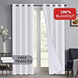 Best Home Thermal Blackout Curtains - Window Treatments Blackout Curtains for Living Room Thermal Review