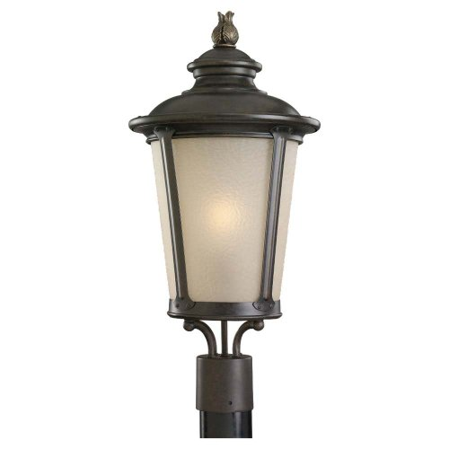Sea Gull Lighting 82240-780 Outdoor Post Lamp - Burled Iron Finish