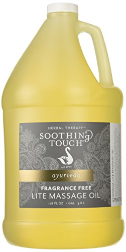Soothing-Touch-Fragrance-Free-Lite-Massage-Oil-Gallon