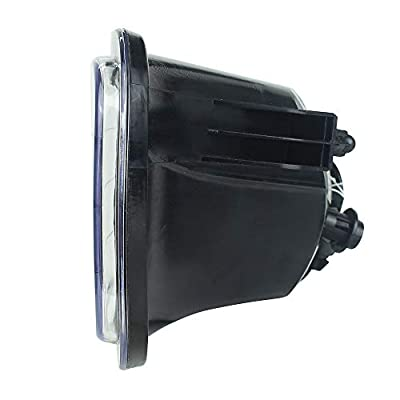 KUQIQI LED Fog Light Passing Lamps for Dodge Ram (09-12 RAM 1500 2500 3500): Automotive