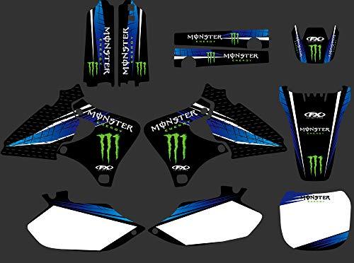 DST0284 Custom Motorcross Stickers Motorcycle Decals Graphics Kit forYamaha YZ250F YZ400F YZ426F 1999 2000 2001 2002 YZ400F YZ426F 1999 2000 2001 2002 -