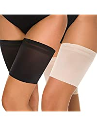 Helloca Sexy Invisible Thigh Bands to Prevent Chafing Elastic Silicone Anti-Slip Bands Garter