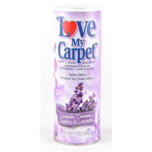 Love My Carpet Lavender Fragrance Rug & Room Deodorizer (Pack Of 6) by Love My Carpet