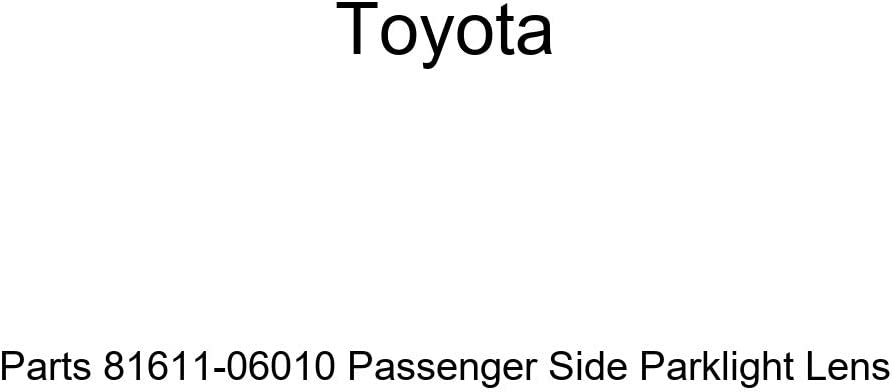 Genuine Toyota Parts 81611-06040 Passenger Side Parklight Lens