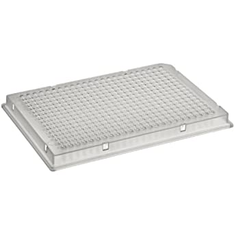 Corning 3680 Polystyrene Flat Bottom 384 Well Microplate, With Lid, Not Treated (Case of 100)