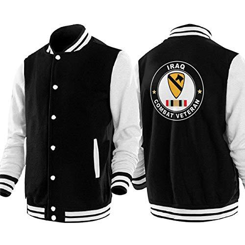 PLO US Army 1st Cavalry Mens & Women's Baseball Jackets Unisex Uniform Varsity Jackets