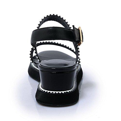 Ouvert 36 Femme Noir Noir Bout 1TO9 EU 5 awxFvX