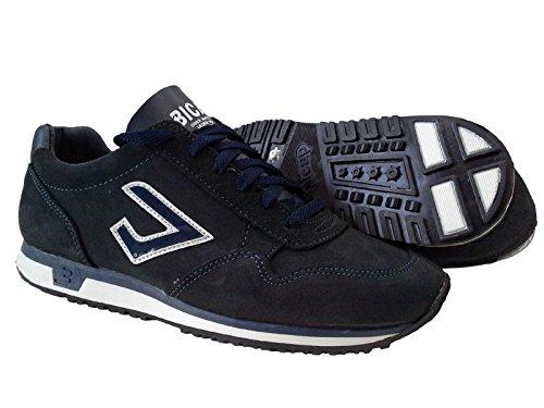 Ginnastica Uomo Sneakers Art Bicap Man Scarpe Suede 60 Pelle Casual Camoscio 5BqCwCvxa