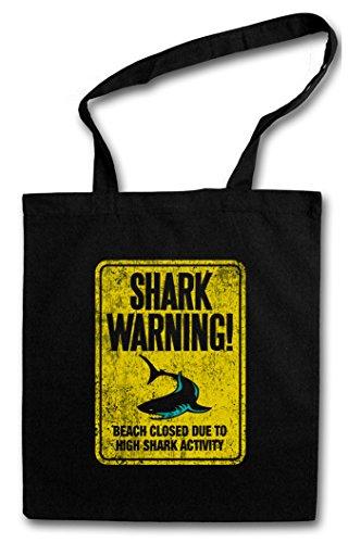 Shark Bag Sign Warning Backwoods Hipster Urban II gqSP5