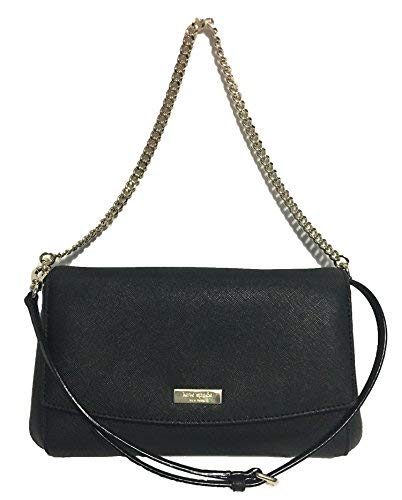 Kate Spade New York Greer Laurel Way Crossbody Purse (Black) -