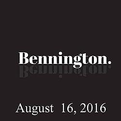 Bennington, August 16, 2016