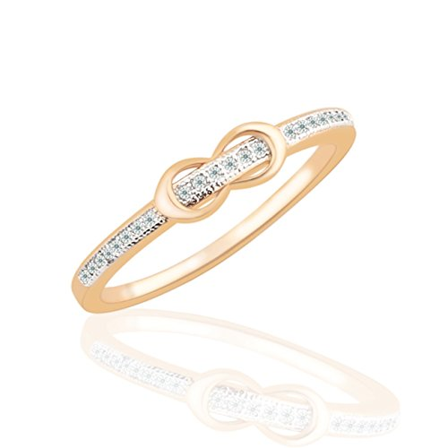 GULICX Shinning Crystal Cubic Zirconia Jewelry Belt Buckle Gold Tone Statement Ring ()