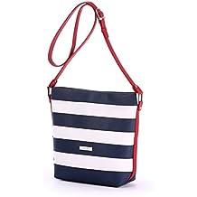 Alba Soboni Women's PU Leather Fashion Style Medium Size Solid Modern Shoulder Cross Body Bag