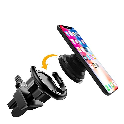 CloudValley Air Vent Clip Car Mount Cell Phone Holder for Car Holder Users for iPhone 6s 6 Plus 6 5s X 8 8 Plus 7 7 Plus Samsung Galaxy S9 S8 Edge S7 S6 Pixel 2 Nexus by CloudValley