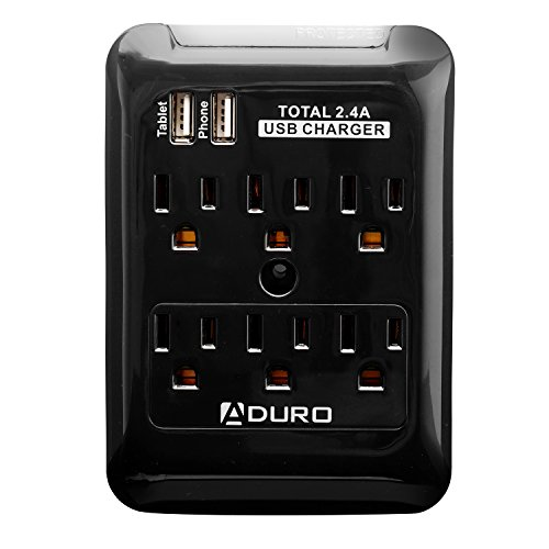 Aduro Charging Station Surge Outlets