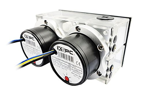 XSPC Twin D5 Dual Bay Reservoir/Pump Combo (SATA Power) by XSPC (Image #4)