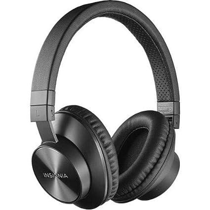 bd0922ee1de Amazon.com: Insignia NS-CAHBTOE01 Bluetooth wireless Over-the-Ear Headphones  - Black: Electronics