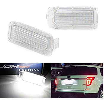 Amazon Com Ijdmtoy Oem Fit 3w Full Led License Plate