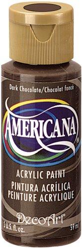 DecoArt Americana Acrylic 2 Ounce Chocolate