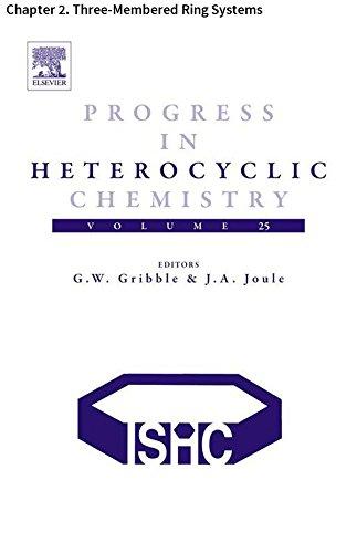 (Progress in Heterocyclic Chemistry: Chapter 2. Three-Membered Ring Systems)
