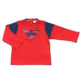Armani Baby Boys T-Shirt Top Long Sleeve