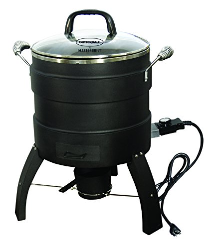 Masterbuilt MB23010809 Oil Free Roaster Electric Fryer,