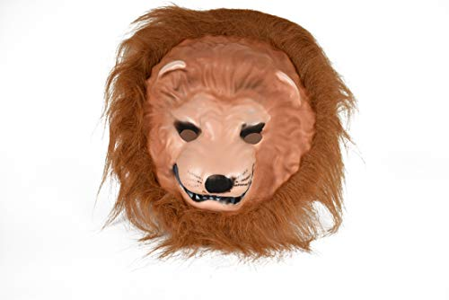 (Set of 1 Faux Fur Animal Masks! Perfect for Dressup and Halloween! (Lion)