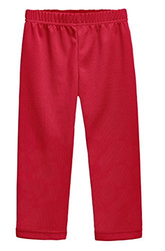 Oshkosh Fleece Shorts - City Threads Athletic Pants for Boys and Girls Sports Camps School Running Basketball Sweat Pants Sweats Perfect for Sensitive Skin Or SPD Clothing, Red, 4T