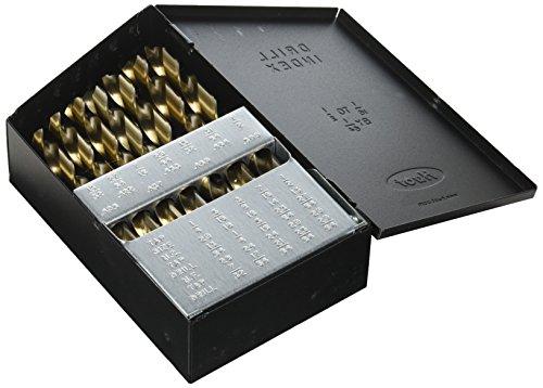 Pro Drill Bit Set - Neiko Pro 10132B Cobalt Drill Bit Set, 29 Piece|Huot Index Case