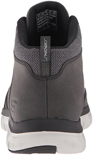 2 Advantage Running Flex 0 Scarpe Skechers Nero Black Uomo E5aqOwO