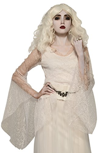 Rubie's Women's White Witch Costume Top, Multicolor, One