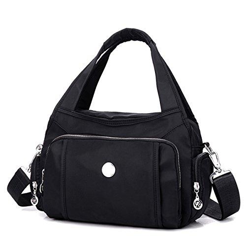Nylon Hobo Handbags - 2