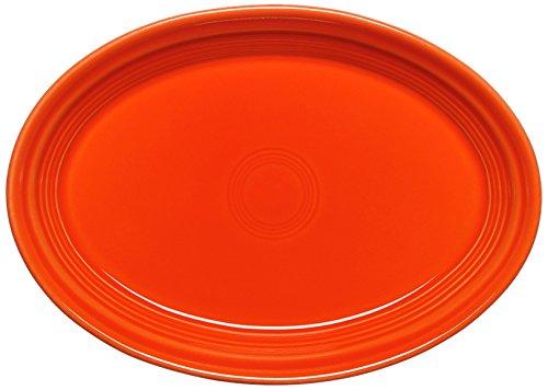 Fiesta Oval Platter, 9-5/8-Inch, Poppy