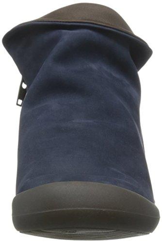 Softinos Farah, Botines para Mujer Azul - Blue (Indigo/Dk. Brown)
