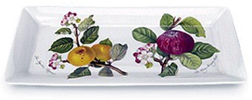 Portmeirion Pomona Earthenware 12 x 5-1/2-Inch Sandwich Tray